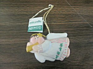 Eddie Walker - Midwest of Cannon Falls - Retired angel ORNAMENT new with tags