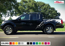 Decal Sticker Vinyl Graphic Side Bed Mud Splash Kit for Nissan Frontier 04-15