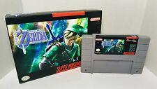 Legend of Zelda: Goddess of Wisdom - SNES Super Nintendo Sealed in Box NTSC