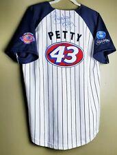 Richard Petty Signed Jersey Beckett COA New York Yankees Chase Authentics Nascar
