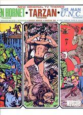 ORIGINAL TV THEMES green hornet TARZON man from u.n.c.l.e.  US EX LP