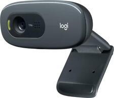 Logitech C270 Webcam, HD 720p, 60° Sichtfeld, Fester Fokus, Belichtungskorrektur