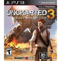 Uncharted 3 Drake's Deception Playstation 3 Game PS3 Used Complete
