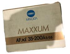 Minolta AF Zoom XI 35-200mm  F/4.5-5.6