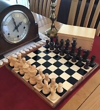 Wooden Staunton Chess Set and Board (weighted/felt)⭐️A Simply Stunning Set⭐️