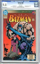 Batman #498  CGC  9.8  NMMT  white pages