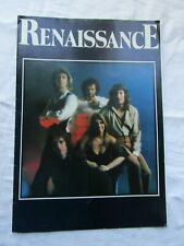 VERY RARE RENAISSANCE PROMOTION PROGRAMME WITH FLYER (AZURE D'OR )