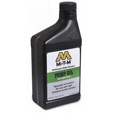 Mi-T-M Pressure Washer Pump Oil 1 Pint