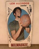 1969 Topps Basketball #25 Lew Alcindor RC Rookie HOF - Kareem Abdul Jabbar