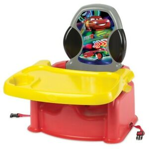 Disney Cars Baby Feeding Booster Seat 2-in-1 Folding First Years Toddler 6m+ New