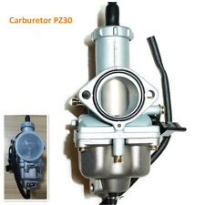 Dirt Bikes ATV Carburetor PZ30 Carb 200cc 250cc Cable Choke Quad Taotao SunL JCL