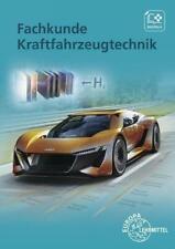 Fachkunde Kraftfahrzeugtechnik   Mona Brand   Taschenbuch   Deutsch   2019