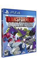 NEW Transformers Devastation (Sony Playstation 4, 2015)