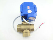 misol / 3 way motorized ball valve DN15(reduce port),T port,electric ball valve
