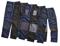 Blackrock Workman Mens Cargo Combat Work Wear Trousers Pants Knee Pad Pockets