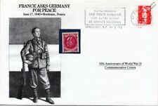 WWII 1940 France Asks Germany for Peace Stamp Cover (Bordeaux/ Danbury Mint)