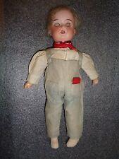 antique Armand Marseille bisque head Floradora Tom Boy doll