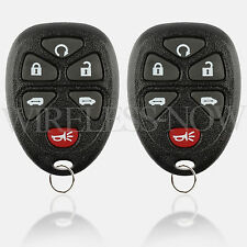 2 Car Key Fob Entry Remote 6Btn For 2005 2006 2007 2008 2009 Chevrolet Uplander