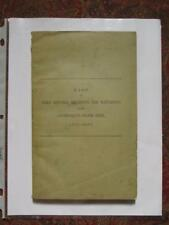 CONFEDERATE FIELD OFFICERS, REGIMENTS AND BATTALIONS- 1912 FIRST EDITION - FINE