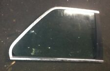 BMW E30 Pop Out Vent Window Quarter Glass Right Passenger 84-87 USED OEM Chrome