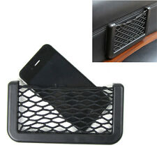 Car SUV Phone Drink Pen Mount Pocket Storage Organizer Elastic Net In Seat Side
