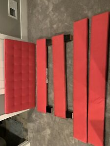 Custom Double Bed Headboard ( Pink ) Used