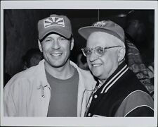 George Christy, Bruce Willis, Petros Markaris ORIGINAL PHOTO HOLLYWOOD 5905