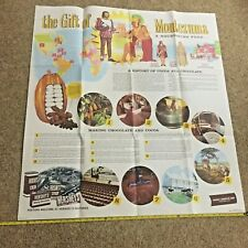 Vintage Hershey Food Corp. The Story Of Chocolate And Cocoa Brochure 30 ps S1291