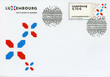 Luxembourg 2018 FDC ATM Label Post & Go 1v Set Cover Stamps