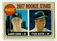 Aaron Judge 2017 Topps Heritage Rookie RC #214 NY Yankees
