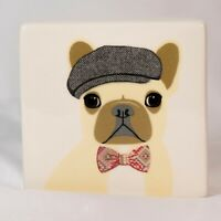 Rae Dunn Paperweight Bulldogs Treat yourself Like Royalty French Bull Dogs