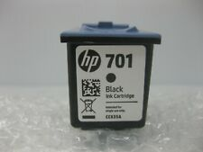 HP 701 Black Ink 640 650 New Genuine CC635A * SHIPS OVERBOXED * Date: 2017