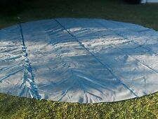 MINT! EUC 24' Round Blue Above Ground  Swimming Pool Solar Cover Blanket