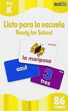Ready for School (flash Kids Spanish Flash Cards) 9781411434950 Editors Cards