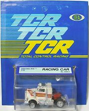 1978 Ideal TCR Racing Rig WHITE T10 Slot Less Car 3268-0 NewOldStock on Card