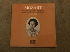 Mozart- Sonata In D & F- Livia Rev- Saga Records LP