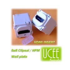 HDMI 1.4 Insert - Custom - suit Clipsal & HPM Style Wall Plate