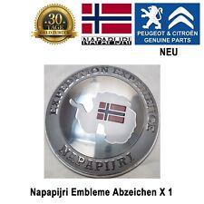 Peugeot 308 406 407 3008 5008 Expert Napapijri Embleme Abzeichen Plakette Logo