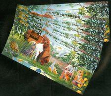 Edw1949Sell : Australia 1996 Six Souvenir Sheets all w/ diff. Overprints. Vf Mnh