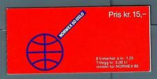 "NORWAY - NORVEGIA - Libretto - 1978 - ""NORWEX 80"". Esp. Fil. Inter. ad Oslo"