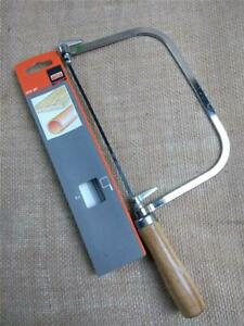 CLEARANCE M2000 COPING SAW WITH 5 SPARE BAHCO BLADES STEEL FRAME SHAPED HANDLE