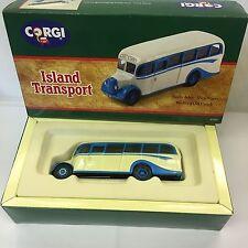 Corgi Bedford Ob Coach isla transporte las islas Scilly Vic Tours en Caja 97101