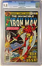 IRON MAN #119 BRONZE AGE MARVEL 1979 CGC 9.8 ROMITA JR LAYTON COVER AND ART