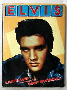 ELVIS By K.D. Kirkland - Hardcover - Vintage 1989