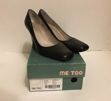 Me Too Radley black Leather Career Dress Pumps Heels 7.5m 7.5 MSRP $89