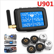 U901 Truck TPMS Car Wireless Tire Pressure Monitoring System+6 External Sensors