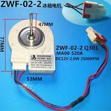 refrigerator freezer Double open the door Fan motor  ZWF-02-2 12v