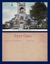 US MICHIGAN SALINE BAPTIST CHURCH CIRCA 1907