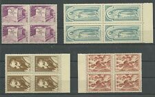 "Greece 1951 Vlastos Nr. 657 - 660 ""St. Paul's Anniversary"" Block of 4 MNH**."