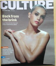 CULTURE Magazine The Sunday Times,Katy Perry,Nicholas Hytner,Waldemar Januszczak